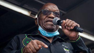 Etelä-Afrikan ex-presidentti Jacob Zuma