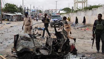 Pommi-isku Mogadishussa, LK