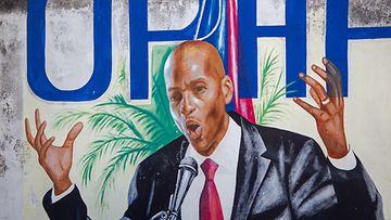AOP Haiti Jovenel Moise maalaus