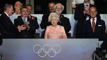 AOP Kuningatar Elisabet Lontoo 2012