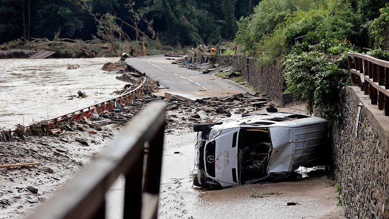 Saksa tulvat