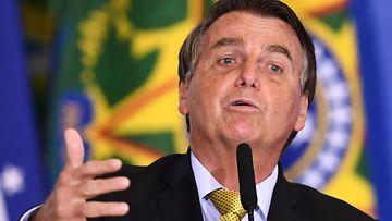 Brasilian presidentti Jair Bolsonaro.