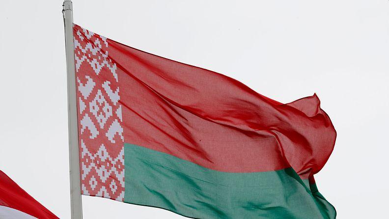 AOP Valko-Venäjä lippu