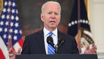 Joe Biden puhumassa LK 20.7.2021