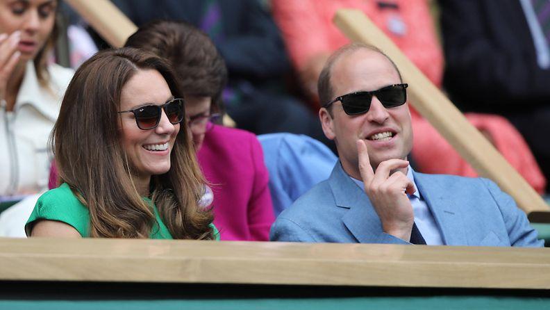 AOP Catherine ja William Wimbledon 2021