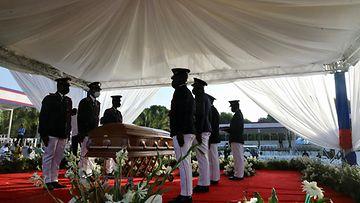 LK23.07.21 Jovenel Moisellen hautajaiset