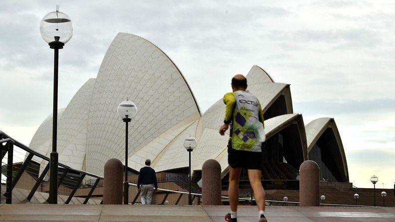 Sydney juoksija LK 24.7.2021