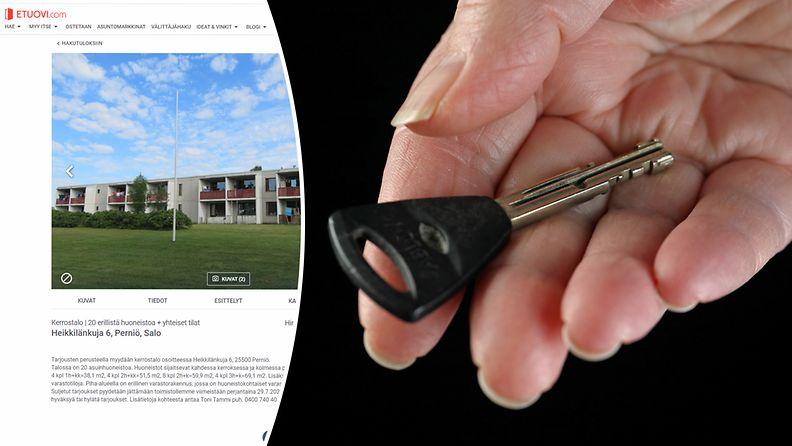 Myytävä talo
