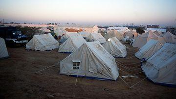 intia telttasairaala lehtikuva