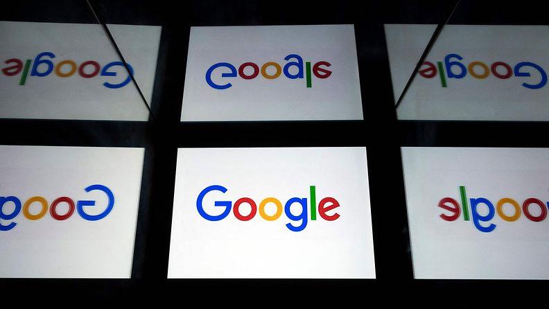 Googlen logoja.