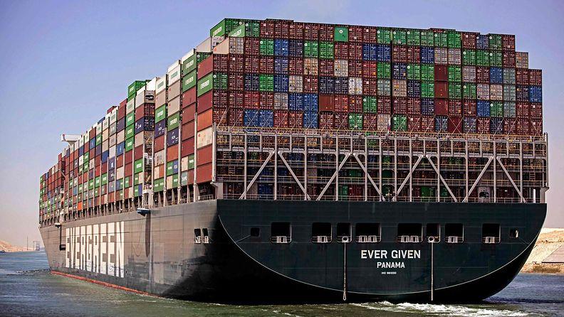 Ever Given Suez LK