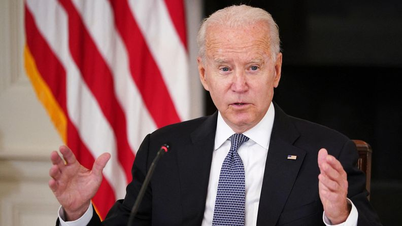 Yhdysvaltain presidentti Joe Biden.
