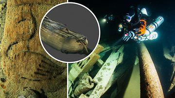 Viime vuonna Suomenlahden pohjasta löytyi mystinen laivan hylky – nyt hylyn alta löytynyt peräpeili on paljastanut laivan päätähuimaavan iän