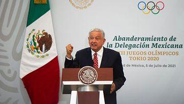 LK: Meksiko, Presidentti, Andres Manuel Lopez Obrador