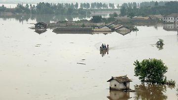 EPA: Pohjois-Korea, tulvat