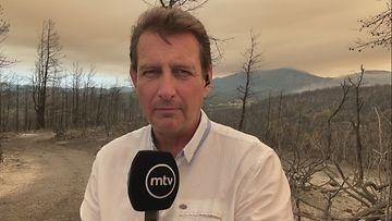 Heikki Piuhola ilmastonmuutos Kreikka tulipalo maastopalo
