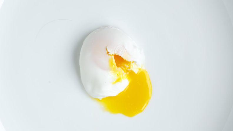 uppopaistettu kananmuna