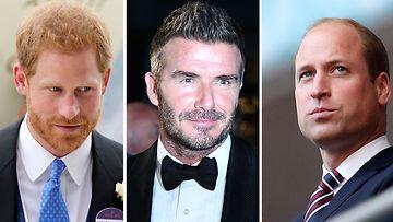 prinssi Harry David Beckham prinssi William