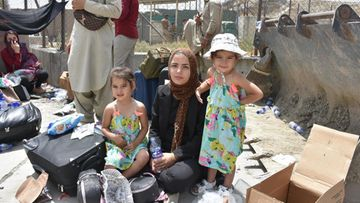 Afganistan, Kabul, nainen, lapset