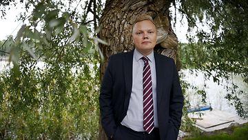 Tiede- ja kulttuuriministeri Antti Kurvinen (kesk.) Helsingissä 17. elokuuta 2021.