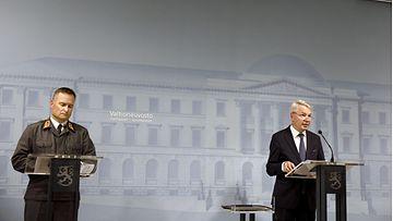 LK 22.08.21 Pekka Haavisto ja Kari Nisula