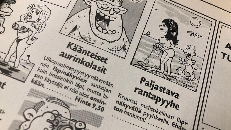 Ote Pahkasika-lehdestä