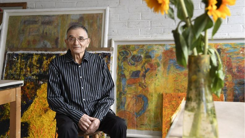 Taidemaalari Rafael Wardi.