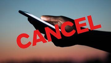 cancel-ilmiö, cancelointi