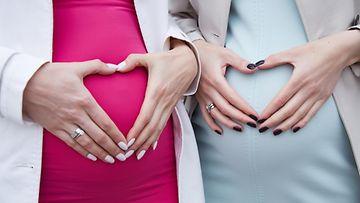 raskaana olevat naiset
