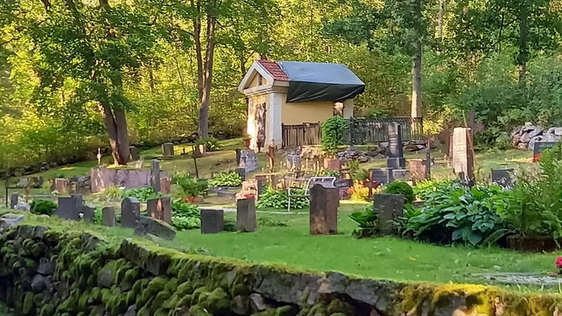 Teijon hautausmaalta heinäkuu 2021