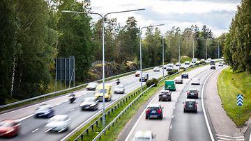 AOP Liikenne ruuhka autoja