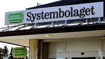 LK 13.9.2021 Systembolaget Haaparannassa, Ruotsissa, 9. heinäkuuta 2019.
