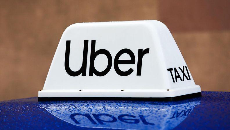 Uber-taksi.