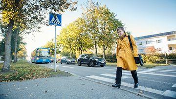 liikenneturva suojatie liikenneturvallisuus jalankulkija