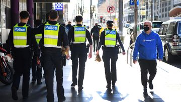 LK: Australia, poliisi, Melbourne
