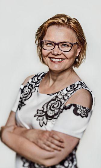 Minna Huotilainen. Kuva Heidi Strengell