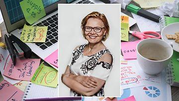 Pikkukuvassa Minna Huotilainen, kuvaajana Heidi Strengell