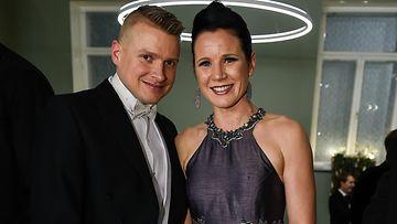AOP Henri ja Mira Potkonen Linnan juhlat 2018