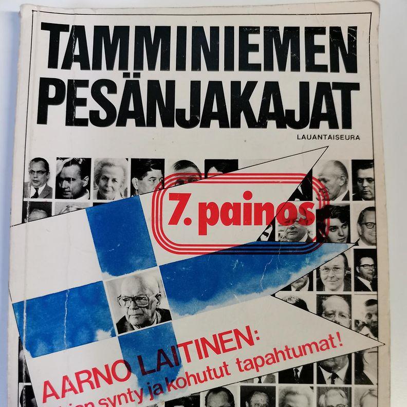 OMA Tamminiemen pesänjakajat kansi 1981