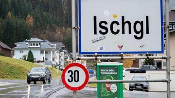 LK 17.9.2021 Tämä kuva Itävallan Tirolissa sijaitsevasta hiihtokeskuksesta Ischglistä on viime vuoden elokuulta.