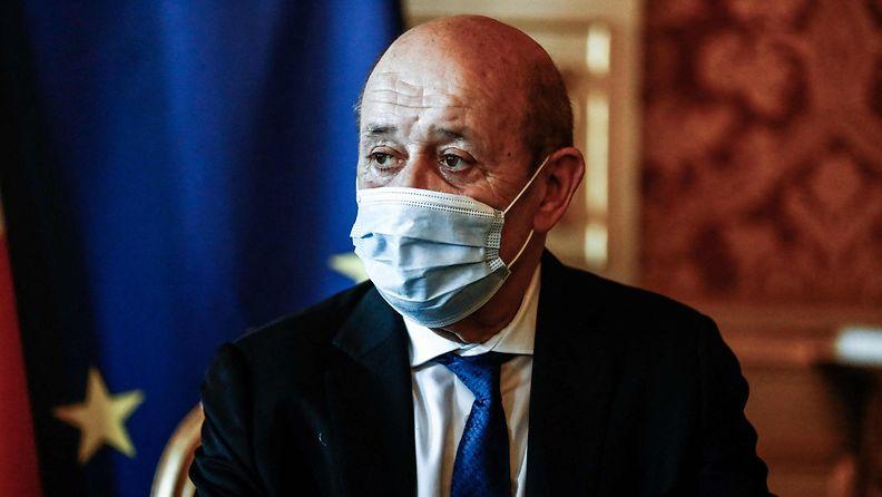 Ranskan ulkoministeri Yves Le Drian.