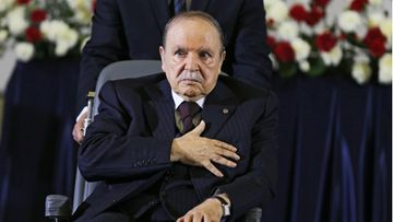 Algerian ex-presidentti Bouteflika