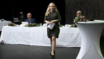 Vihreiden Maria Ohisalo.
