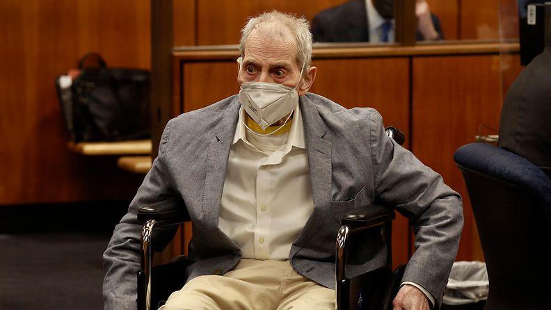 Robert Durst oikeudenkäynnissä.