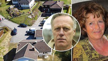 Miljonääri Norja vaimo katoaminen