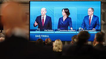 Saksa vaalit väittely