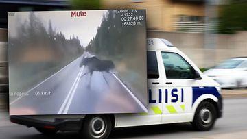 Poliisi-hirvi