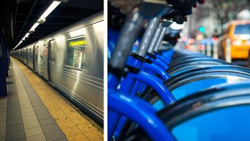 shutterstock metro new york sähköpyörä