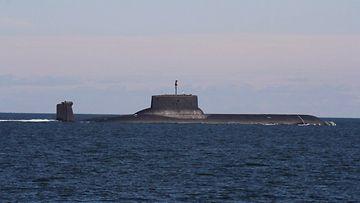 lehtikuva sukellusvene venäjä