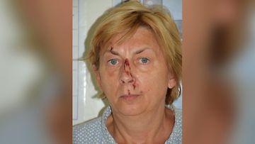 kroatian poliisin kuva naisesta